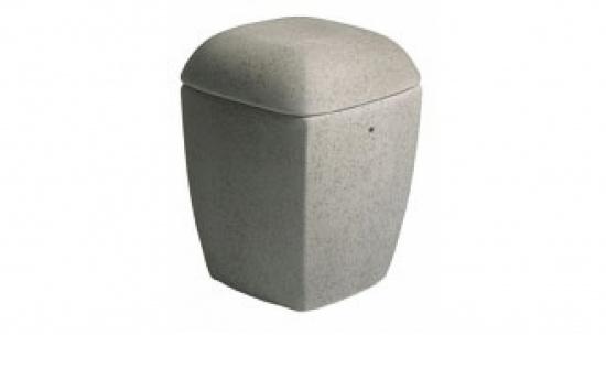 Keramikurne Mauro, steingrau   <small>(006)</small>