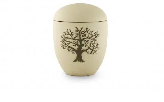 Keramikurne, Motiv Lebensbaum   <small>(003)</small>